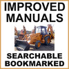 Thumbnail Collection of 2 files - Case 580G CK Loader Backhoe Operators Manual & Parts Catalog Manuals - IMPROVED - DOWNLOAD