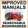 Collection of 2 files: IH International 1256 Tractor Service Shop Manual & Parts Catalog Manual - IMPROVED - DOWNLOAD
