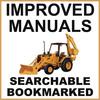 Thumbnail Collection of 2 files - Case IH 480E Loader Backhoe & 480E LL Loader Landscaper Factory Service Repair Manual  & Operators Instruction Manual - IMPROVED - DOWNLOAD