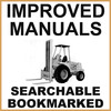 Thumbnail Collection of 2 files - Case 584 585 586 Hydrostatic Drive Forklift Operators Manual & Parts Catalog Manuals - IMPROVED - DOWNLOAD