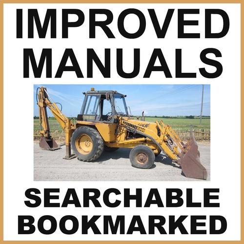 Product picture Case 580F Construction King Loader Backhoe Parts Catalog Manual - IMPROVED - DOWNLOAD