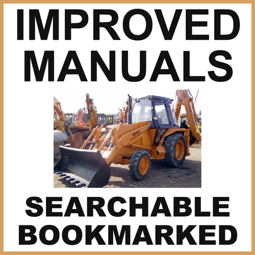 Product picture Collection of 2 files - Case 580G CK Loader Backhoe Operators Manual & Parts Catalog Manuals - IMPROVED - DOWNLOAD