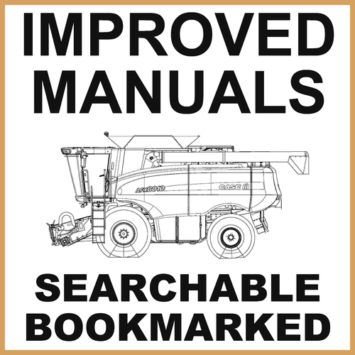 Product picture IH Case Axial-Flow AFX8010 Combines Service Workshop Repair Manual - DOWNLOAD