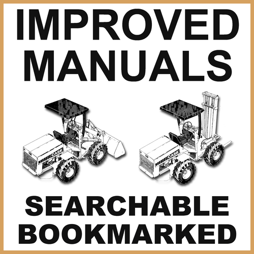 Product picture Case W4 Loader & Forklift Illustrated Parts Catalog Manual - IMPROVED - DOWNLOAD