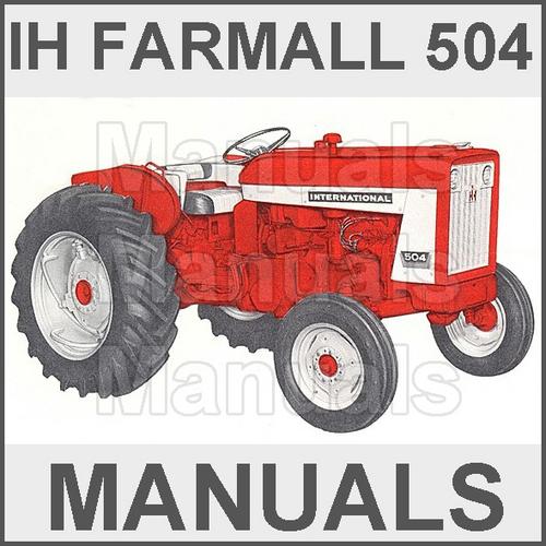 Farmall tractors manuals on